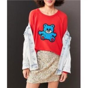 🐻UO Truly Madly Deeply Teddy Bear Pullover🐻